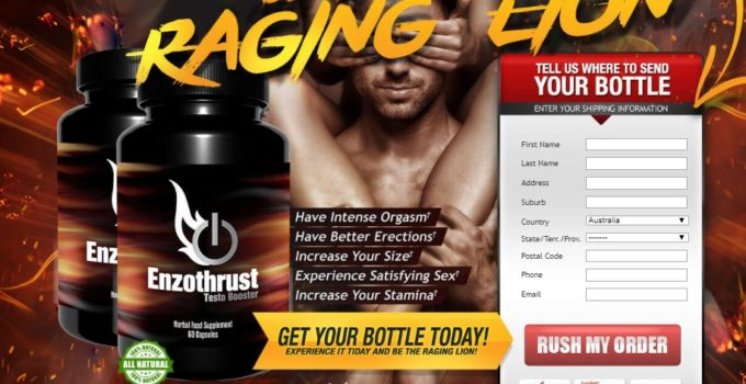 Enzothrust Male Enhancement Benefits