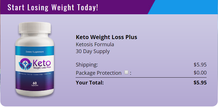 Keto Weight Loss Plus Pills Trial Pack