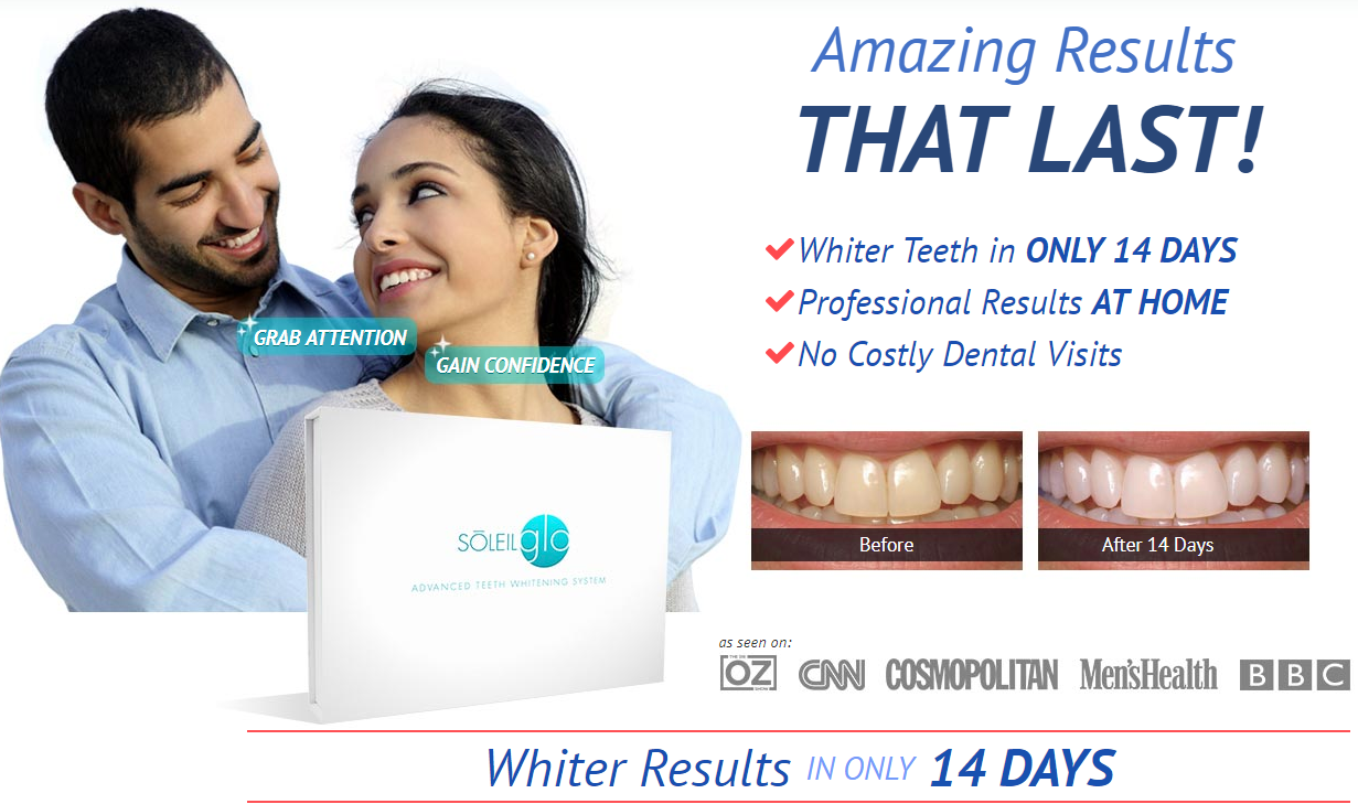 Soleil Glo Advanced Teeth Whitening