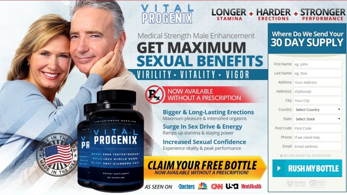 Vital Progenix Male Enhancement