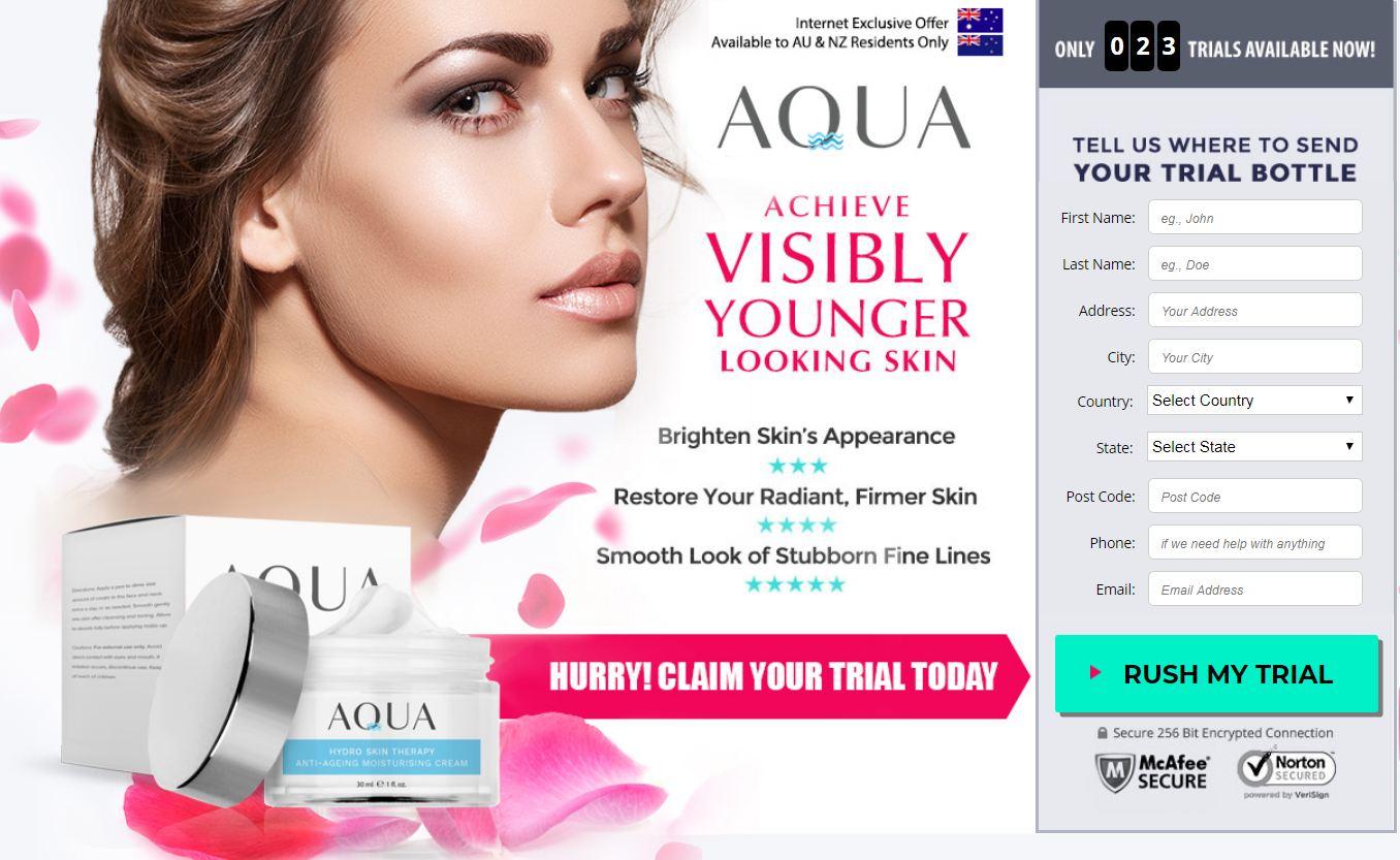 Aqua Hydro Anti Aging Cream