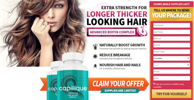 Capillique Hair Growth