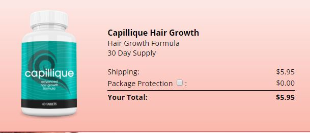 Capillique Hair Growth Prix