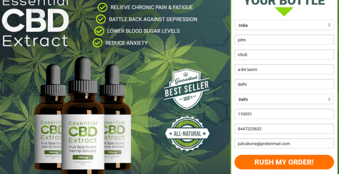 Essential Cbd Extract Order
