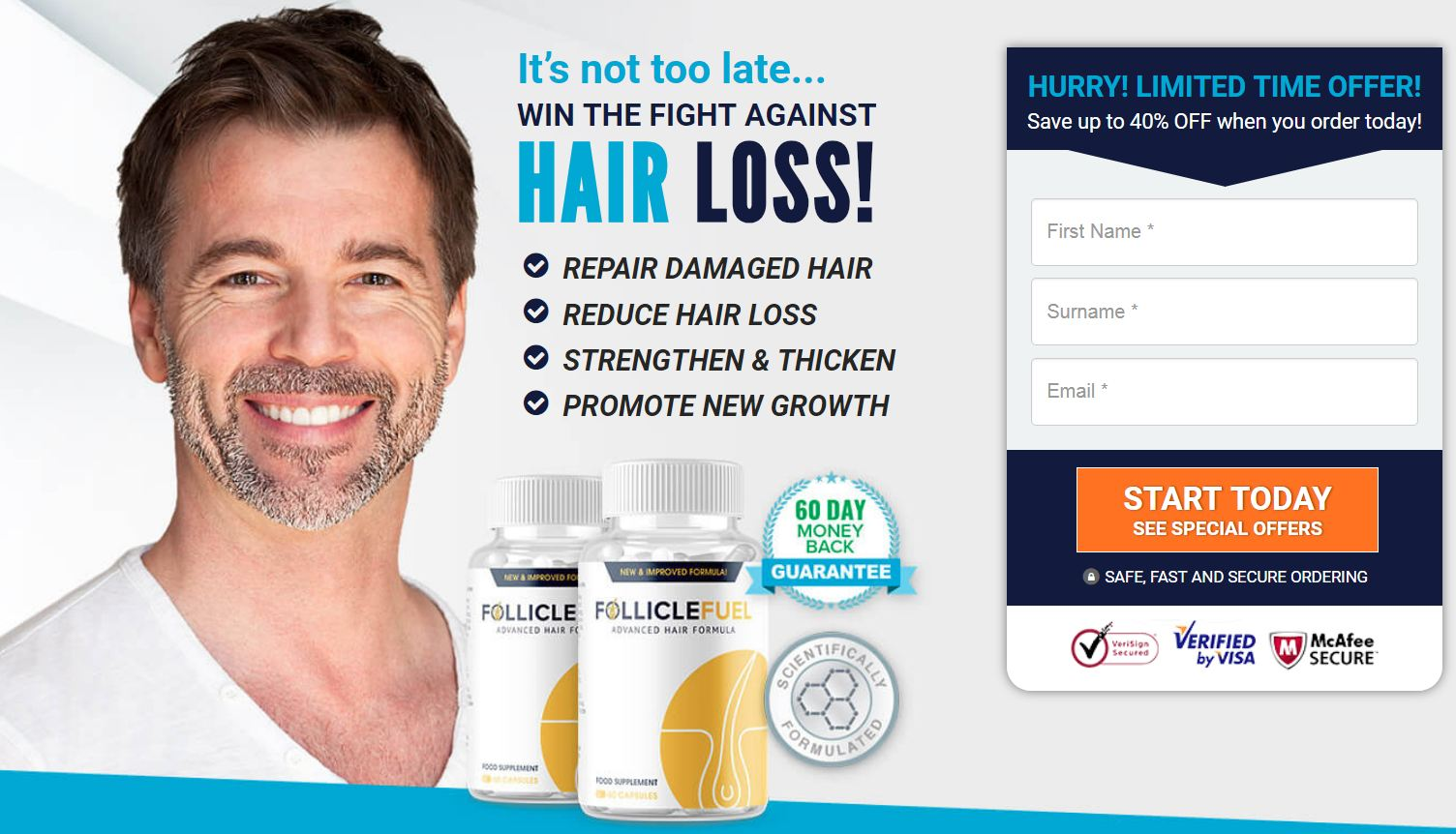 FollicleFuel Advanced Hair Formula Pills