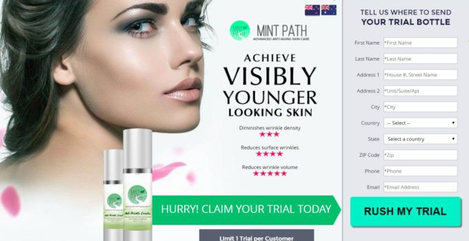Mint Path Anti Wrinkle Serum