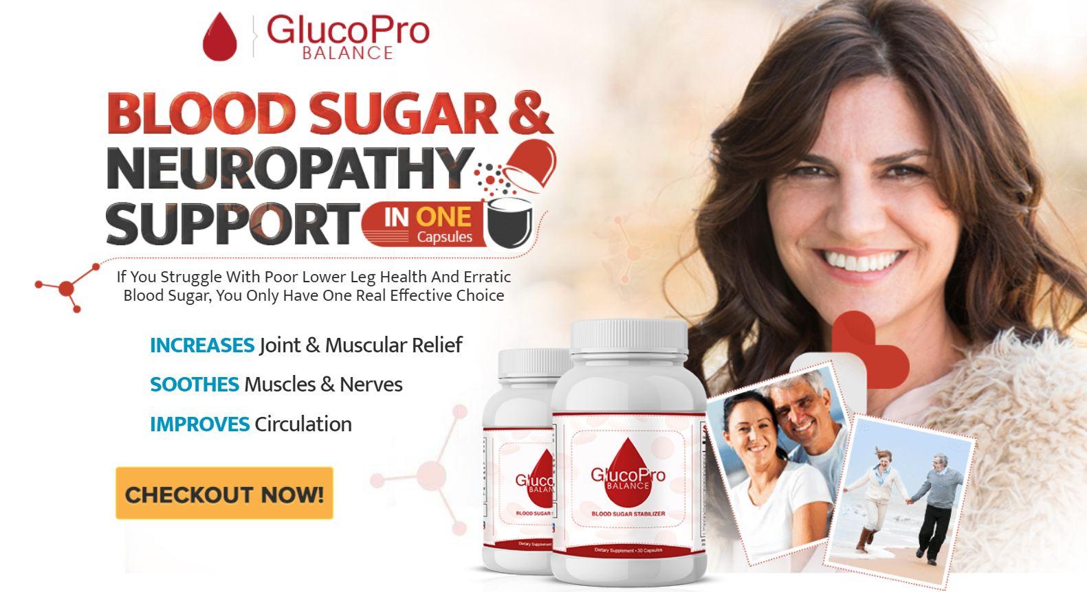GlucoPro Balance Blood Sugar Support Formula