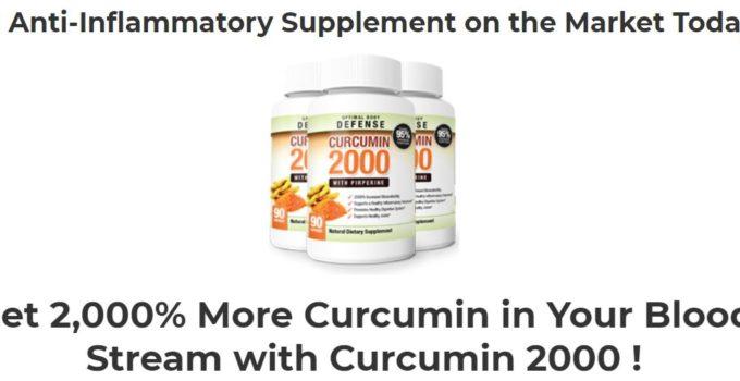 Curcumin 2000 Pills