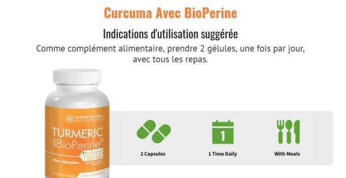 Turmeric with BioPerine Avis