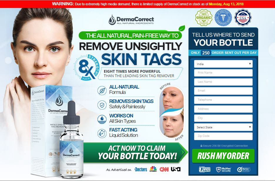 Derma Correct Skin Tag Removal