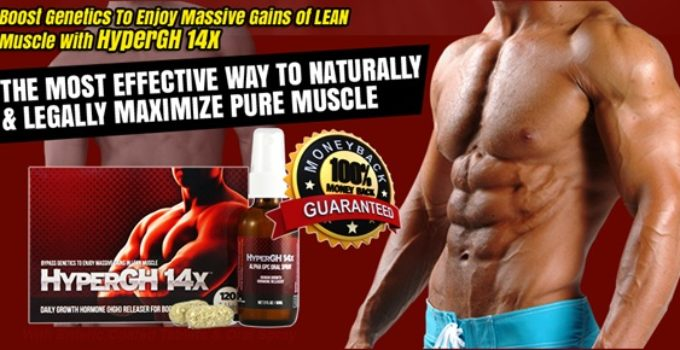 HyperGh 14x Muscle building supplement