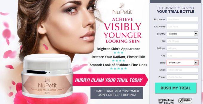 NuPetit Anti Aging Moisturizing Cream