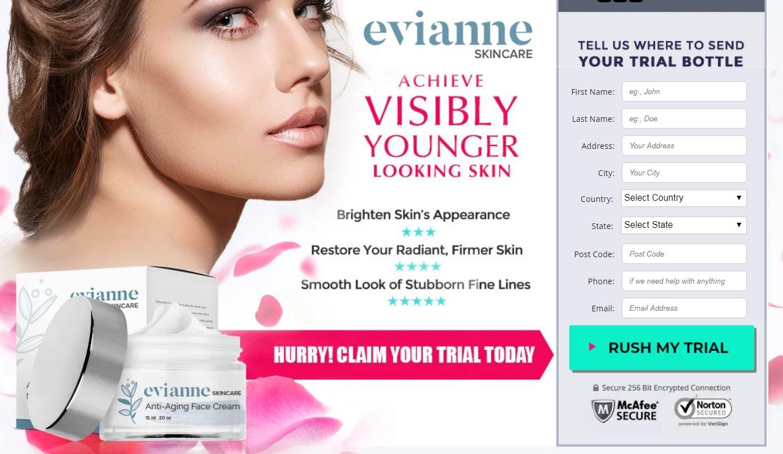 Evianne Anti Aging Cream