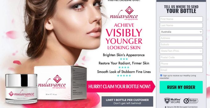 Nulavance Anti Aging Skin Cream