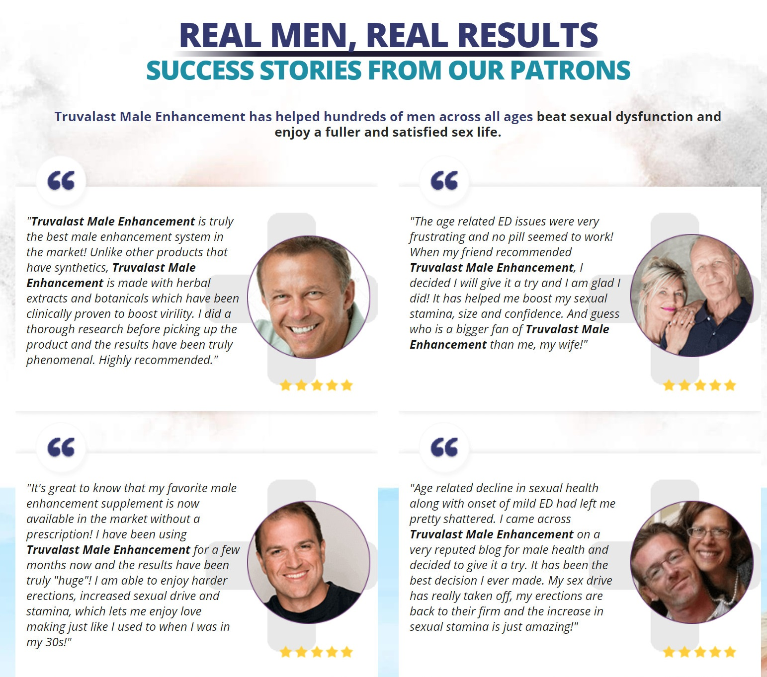 Truvalast Male Enhancement Reviews