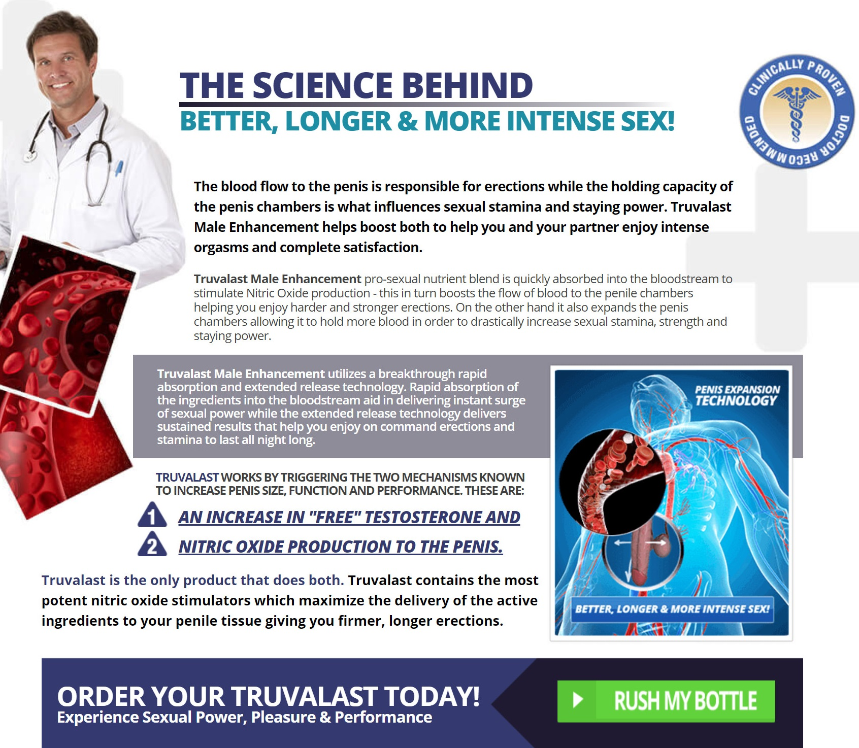 Truvalast Male Enhancement Science Behind
