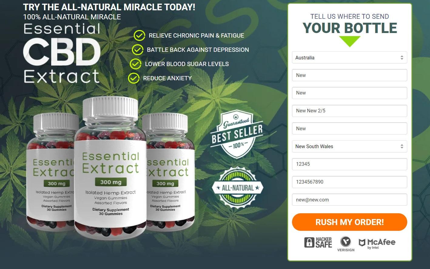 Essential CBD Extract Buy Now