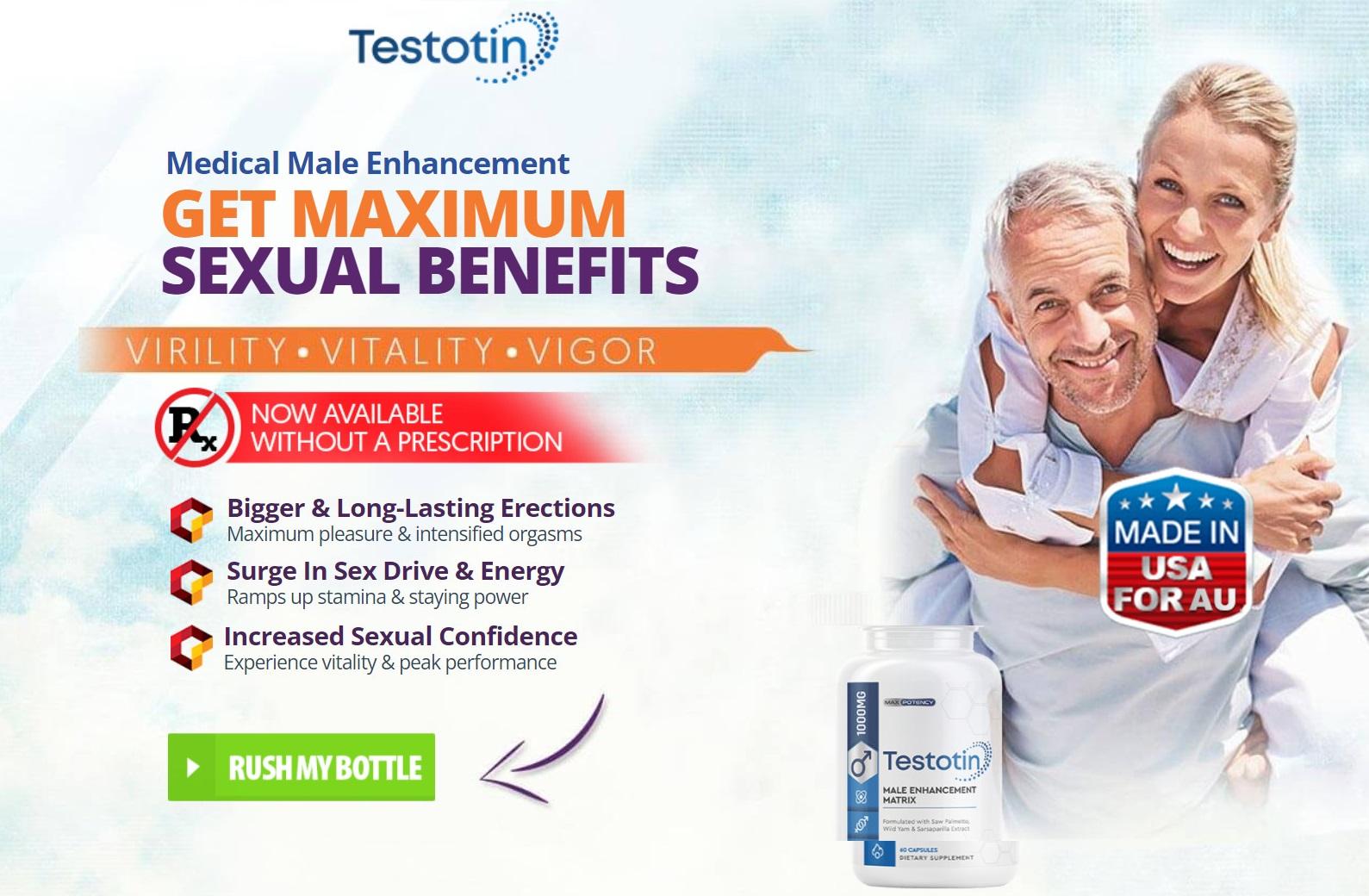 Testotin Male Enhancement Formula Australia (AU) Reviews & Offer Price